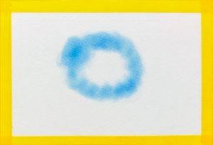 パステルアートで雲を描く方法1