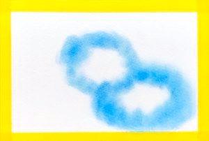 パステルアート雲の描き方2